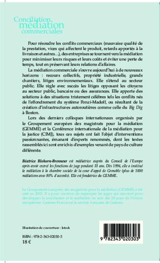 4eme Conciliation et médiation commerciale