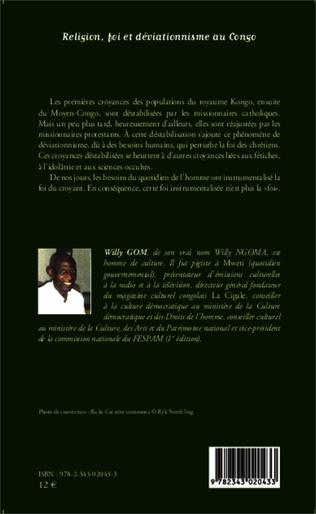 4eme Religion, foi et déviationnisme au Congo
