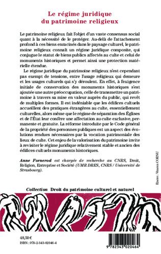 4eme Le régime juridique du patrimoine religieux
