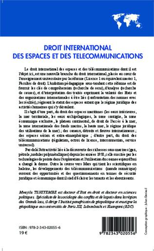 4eme Droit international des espaces et des télécommunications