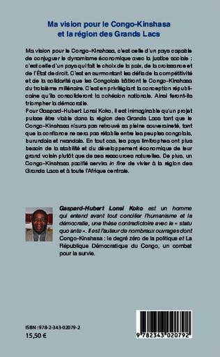 4eme Ma vision pour le Congo-Kinshasa et la région des Grands Lacs