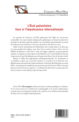 4eme L'Etat palestinien face à l'impuissance internationale