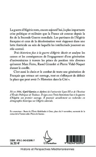 4eme Trois historiens face à la guerre d'Algérie