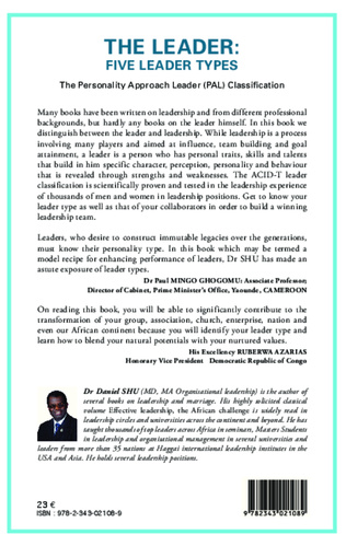 4eme The leader : five leader types