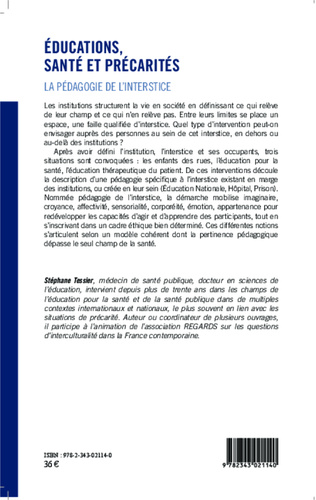4eme Educations, santé et précarités