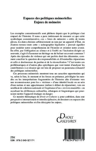 4eme L'esclavage dans la mémoire nationale française : cadres et enjeux d'une politique mémorielle en mutation