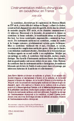 4eme L'instrumentation médico-chirurgicale en caoutchouc en France