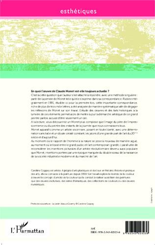 4eme Claude Monet : A l'école de l'oeil
