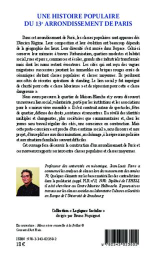 4eme Une histoire populaire du 13e arrondissement de Paris