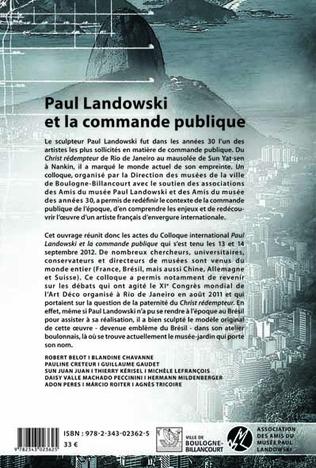 4eme Paul Landowski et la commande publique