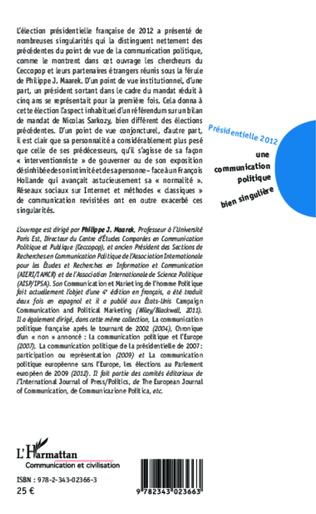 4eme Facebook, un outil de communication électorale supplémentaire à maîtriser La page Facebook de Marine Le Pen : entre présence et absence