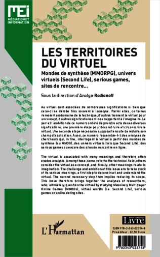 4eme Les territoires du virtuel