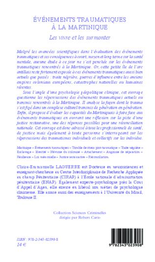 4eme Événements traumatiques à la Martinique