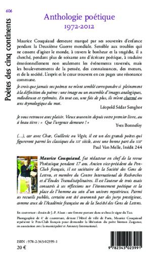 4eme Anthologie poétique