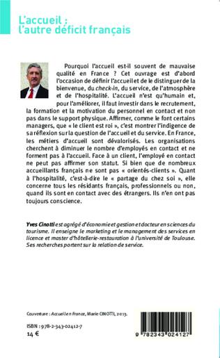 4eme L'accueil: l'autre déficit français