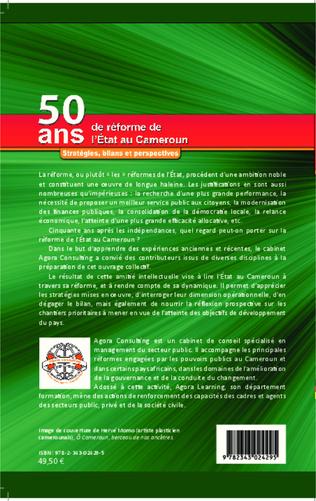 4eme 50 ans de réforme de l'Etat au Cameroun