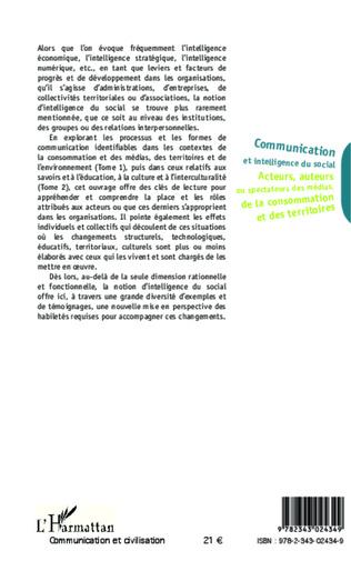 4eme Communication et intelligence du social (Tome 1)