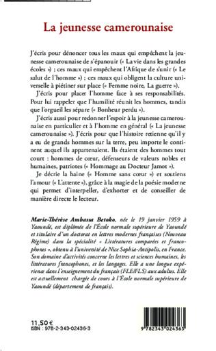 4eme La jeunesse camerounaise