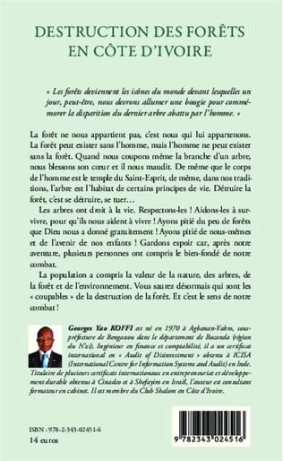4eme Destruction des forêts en Côte d'Ivoire