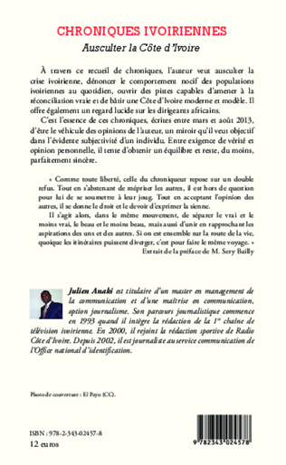 4eme Chroniques ivoiriennes