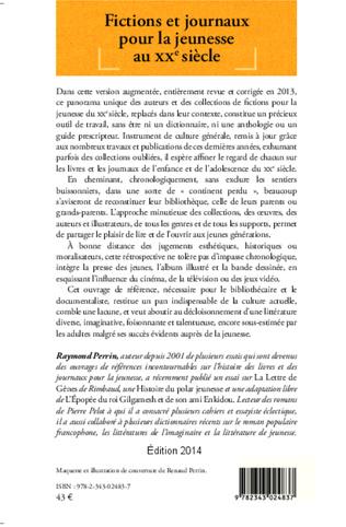 4eme Fictions et journaux pour la jeunesse au XXe siècle