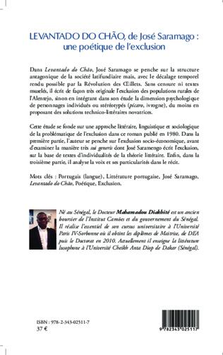 4eme <em>Levantado do Chao</em> de José Saramago : une poétique de l'exclusion