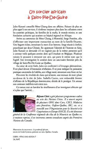 4eme Un sorcier africain à Saint-Pie-De-Guire