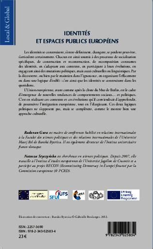 4eme Identités et espaces publics européens