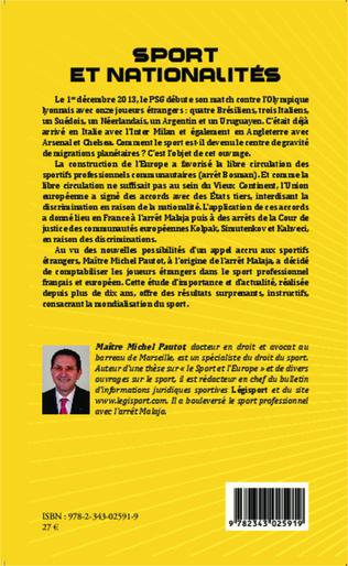 4eme Sport et nationalités