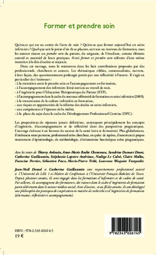 4eme DU PRENDRE SOIN À L'ACCOMPAGNEMENT EN FORMATION