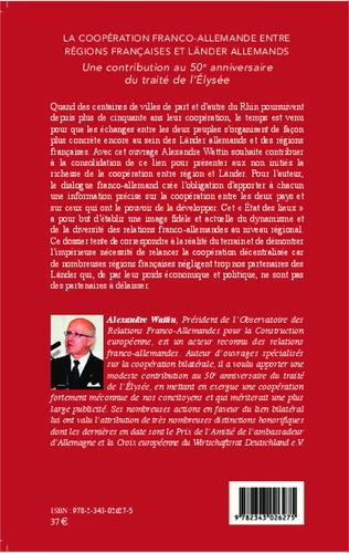 4eme La coopération franco-allemande entre régions françaises et Länder allemands