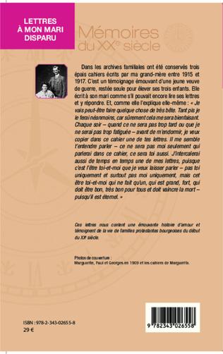 4eme Lettres à mon mari disparu (1915-1917)