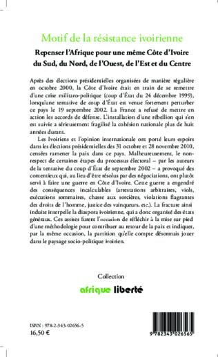 4eme Motif de la résistance ivoirienne