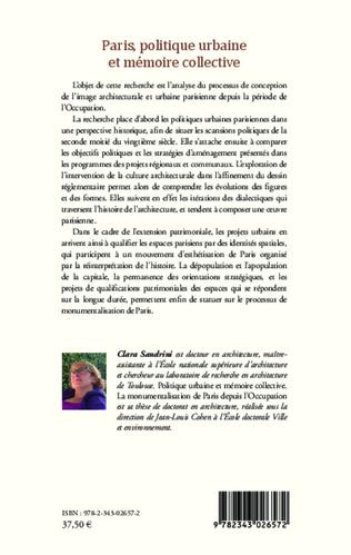 4eme Paris, politique urbaine et mémoire collective