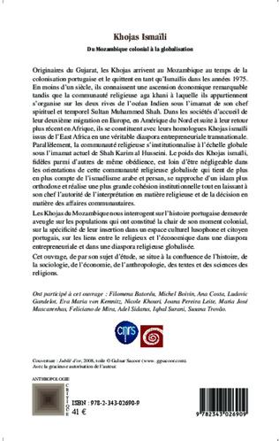 4eme Khojas Ismaïli du Mozambique colonial à la globalisation