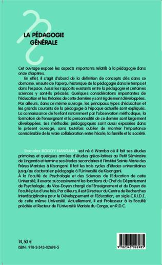 4eme La pédagogie générale