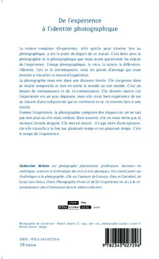 4eme De l'expérience à l'identité photographique.