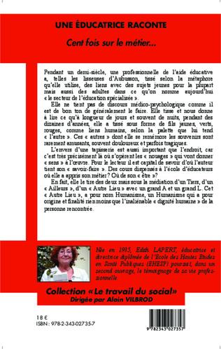 4eme Une éducatrice raconte
