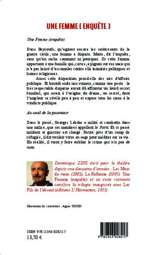 4eme Une femme (enquête)