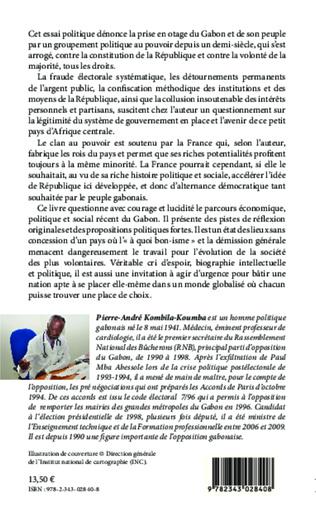 4eme Une autre vision du Gabon