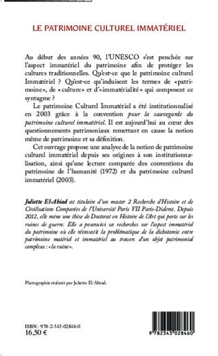 4eme Le patrimoine culturel immatériel