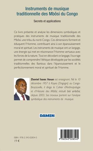 4eme Instruments de musique traditionnelle des Mbôsi du Congo