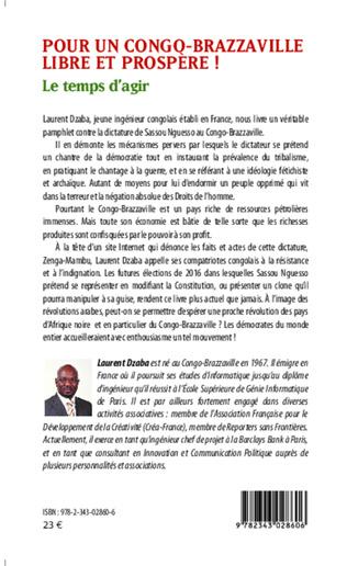 4eme Pour un Congo-Brazzaville libre et prospère !