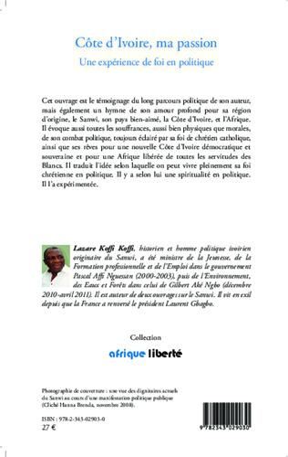 4eme Côte d'Ivoire, ma passion