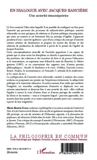 4eme En dialogue avec Jacques Rancière