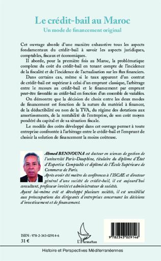 4eme Le crédit-bail au Maroc