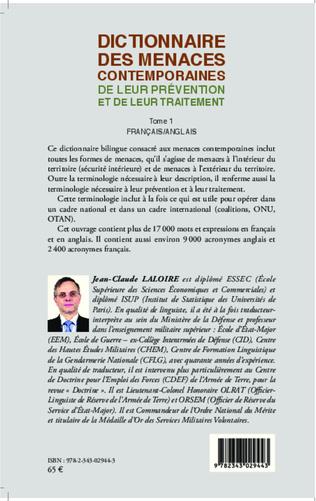4eme Dictionnaire des menaces contemporaines