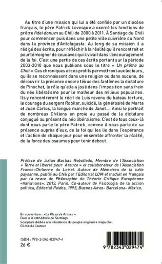 4eme Un prêtre au chili (2000-2011)