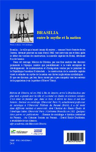 4eme Brasilia entre le mythe et la nation
