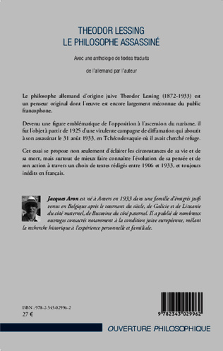 4eme Theodor Lessing